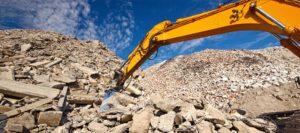 Aggregate excavator